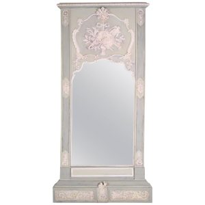19th Century Louis XVI-style Tall Tremeau Mirror