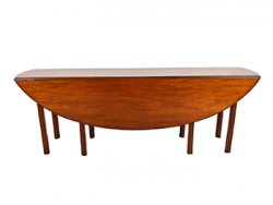"Traditional 89"" George III-Style Wake/Hunt Table"