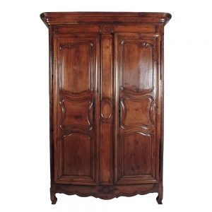 1880's French Normandie-style Two-Door Armoire