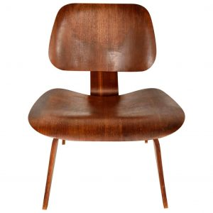Single Lounge Chair by Charles Eames