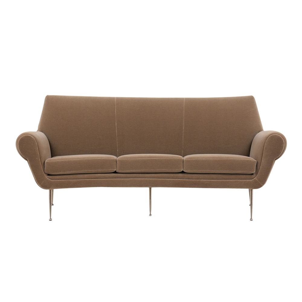 Awesome Italian Modern Style Three Seat Curved Sofa Castle Prop House Caraccident5 Cool Chair Designs And Ideas Caraccident5Info